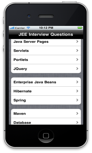 JEE Interview Questions App On App Store